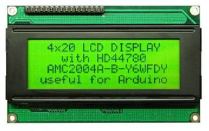 DISPLAY LCD 20X4 com Bcklight