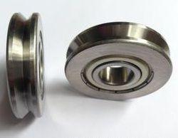 Polia em V com rolamento de esferas OD: 18mm ID:4mm(Rolamento 624ZZ)