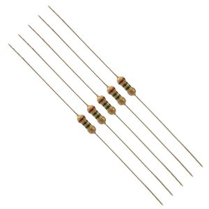 Resistor 4K7 Kit 10 peças 1/4W 5%
