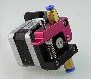 MK8 Extrusora modelo Bowden  (Nema 17) para filamento de 1.75 mm (motor e ventilador com conectores para Ramps 1.4 )