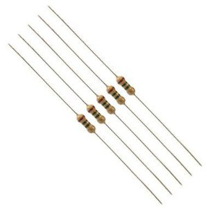 Resistor 100R Kit 10 peças 1/4W 5%