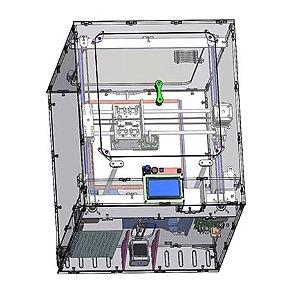 Kit completa Impressora 3D MartaMini