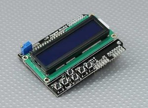 LCD 1602 Keypad Shield