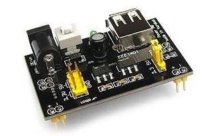 Fonte DC de 5 e 3.3 v para Protoboard