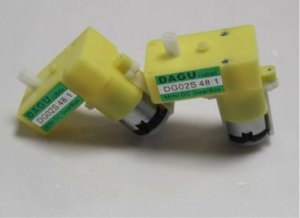 Micro Motoredutor Dc 6v 65 Rpm DG02S 48:1 (2 pçs)