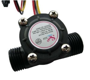 Sensor de Fluxo de Água (3/4) 1-60l/min 5-24V