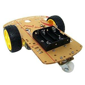 Kit Chassis com tração em 2 Rodas