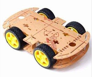 Kit Chassis de Carro com tração em 4 Rodas
