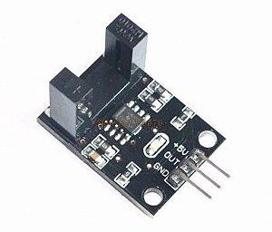 Sensor de Velocidade IR com Disco Encoder de 26mm