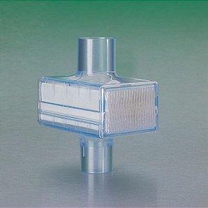 Filtro autoumidificador barreira bactéria/vírus para ventilação mecânica - PALL BB50T