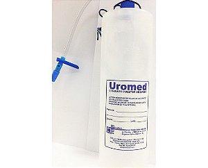 Conjunto Coletor de Urina sis. Aberto - 1200ml caixa com 12 UN