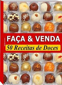 Apostila Faça e Venda -50 Receitas de  Doces para Casamento (e-Book)