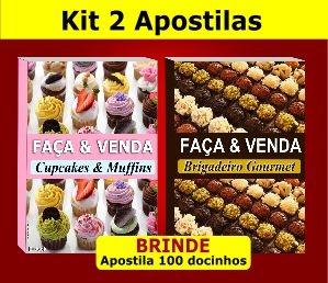 Kit 2 Apostilas - Cupcakes e Brigadeiros