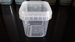 Embalagem plástica para BOLO NO POTE com tampa lacre - 220ML  -  250 PEÇAS (Atacado)
