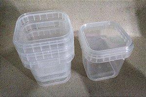 Embalagem plástica para BOLO NO POTE com tampa lacre - 220ML - 100 PEÇAS (Atacado)