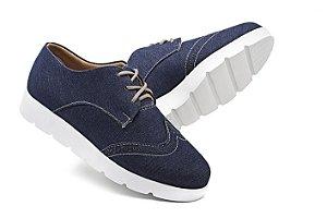 Sapato Oxford Feminino Azul