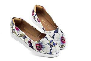 Slip-on Feminino Floral Becc boo