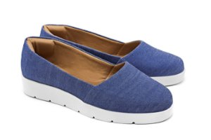 Slip-On Jeans Becc Boo no Atacado