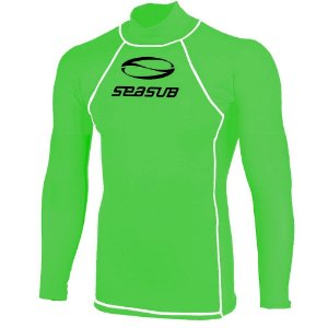 Camiseta Lycra ML Infantil Seasub