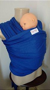Wrap sling azul royal liso
