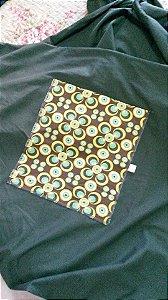 Wrap Sling SlingaBaby Verde com estampa