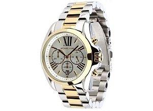 6a34e23cb8d Relógio Michael Kors Mk5627 Prata e Dourado
