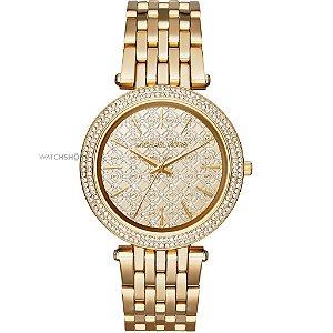 c16b71a4755 Relógio Feminino Michael Kors Dourado Mk6065 - Dalu Importados