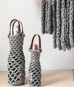 Porta Champagne de Crochet
