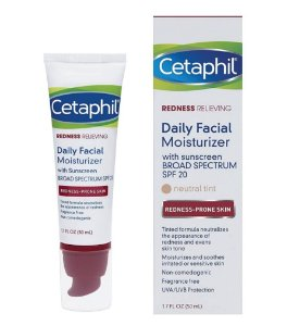 Cetaphil Redness Relieving Daily Facial Moisturizer SPF 20 - 50ml