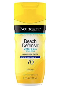 Neutrogena Protetor Solar Beach Defense SPF 70  - 198ml