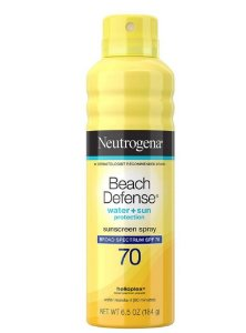 Neutrogena Spray Corporal Beach Defense SPF 70 - 184g