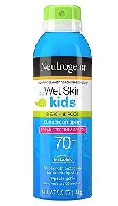 Neutrogena Protetor Solar Wet Skin Kids SPF 70+ 141g