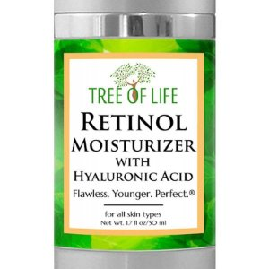 Tree Of Life Creme Retinol Moisturizer Facial - 50ml