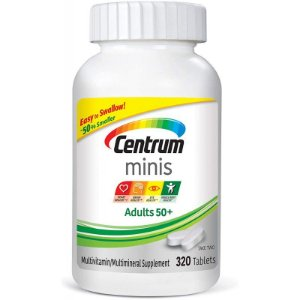 Centrum Minis Adults 50+ (320 Comprimidos)