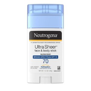 Neutrogena Ultra Sheer Face & Body Stick SPF 70 - 42g