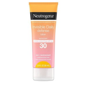 Neutrogena Invisible Daily Defense Lotion Broad Spectrum SPF 30 - 88ml