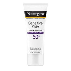 Neutrogena Sensitive Skin Lotion Broad Spectrum SPF 60+ 88ml