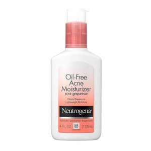 Neutrogena Oleo Free Acne Facial Moisturizer Pink Grapefruit - 188ml