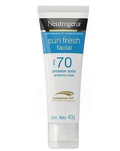 Neutrogena Sun Fresh Protetor Solar Facial FPS70 40g