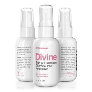 Divine Derriere Spray Skin pH Balancing Chemical Peel Neutralizer - 60ml