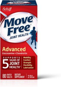 Move Free Joint Health Advance Glucosamine + Chondroitin - 80 compromidos