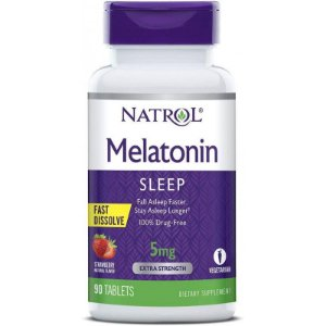 Natrol Melatonin Sleep 5mg Fast Dissolve - 90 Tablets