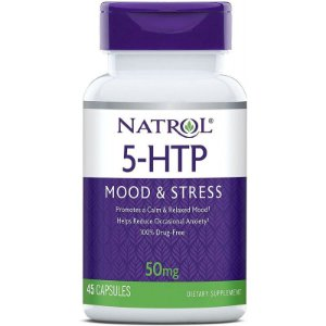 Natrol 5-HTP Mood & Stress 50mg - 45 Capsules
