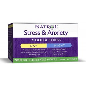 Natrol Stress & Anxiety Mood & Stress Day/Night - 60 Tablet