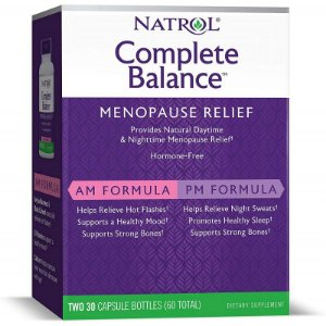 Natrol Complete Balance Menopause Relief - 60 Capsules