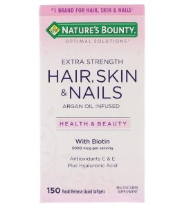 Nature's Bounty Optimal Solutions Hair, Skin & Nails - 150 Softgels