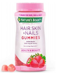 Nature's Bounty Hair, Skin & Nails With Biotin 2500mcg - 140 Gommies