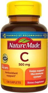 Nature Made Vitamin C 500mg - 130 Tablets