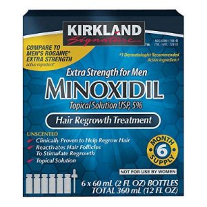 Kirkland Minoxidil 5% Extra Strength Hair for Men - 6 Meses