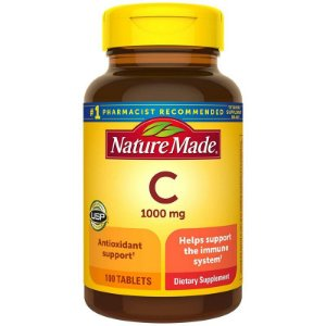 Vitamina C 1000 mg Nature Made - 100 Comprimidos